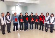 华玺杏彩平台app下载怀柔分公司活动 | 村企共建乒乓球联谊赛